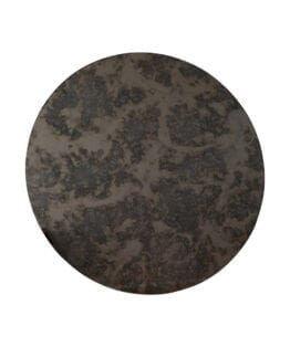Shade Mirror Round Sort/Brun- Specktrum