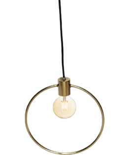 Loftlampe messing – Trademark Living