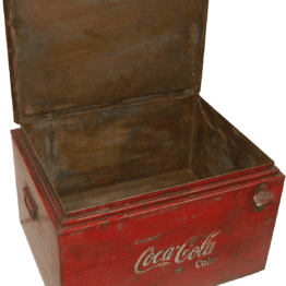 Coca Cola box – Trademark Living