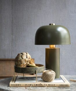 Lulu Lampe Marble Green – Cozy Living