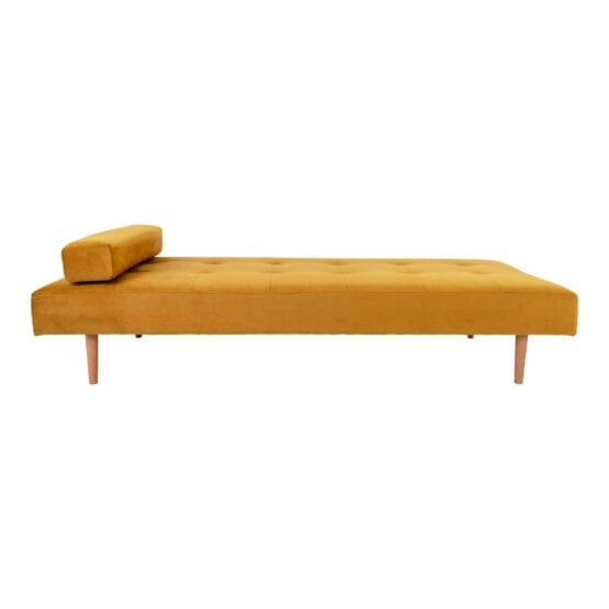Gul velour Daybed