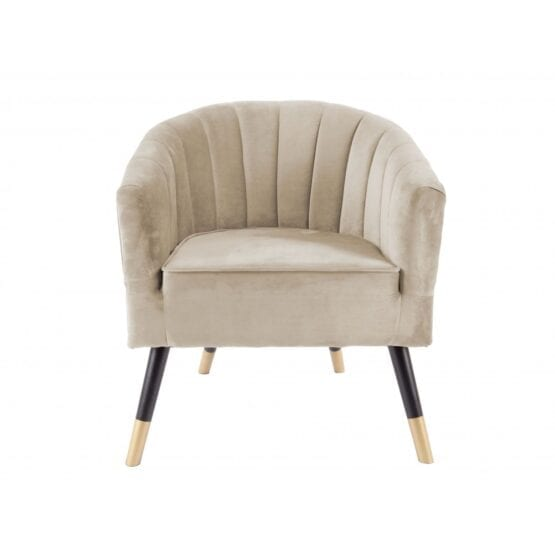 Loungestol sand velour